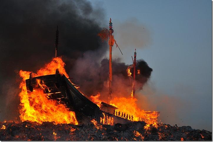 屏東東港|2009己丑正科東港迎王平安祭典 – 燒王船