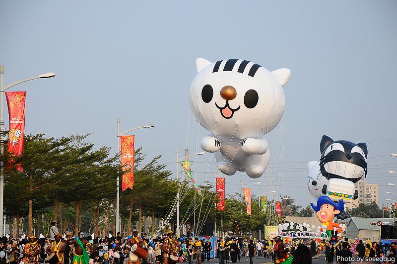 夢時代,夢時代熱氣球大遊行,openyourdream