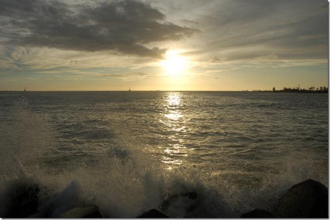 西子灣,夕陽,西子灣夕陽,西灣夕色,高雄西子灣