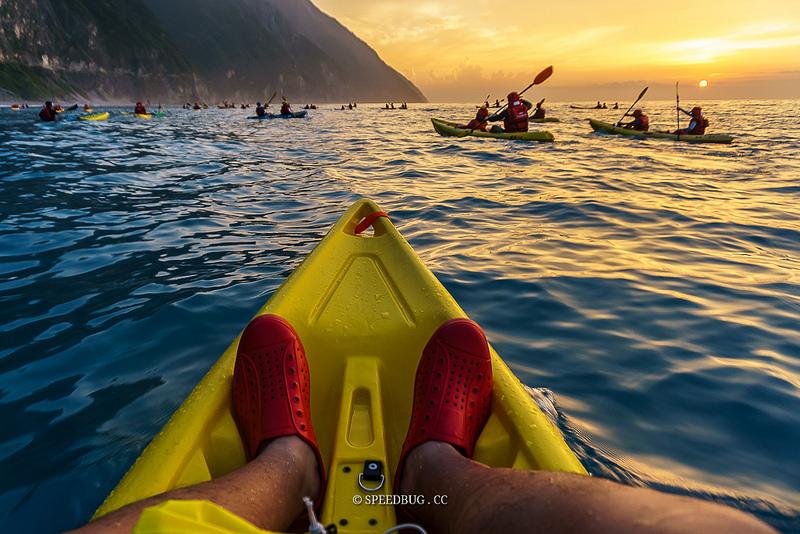 【花蓮】清水斷崖獨木舟.一生必玩一回令人難忘的太平洋海上日出