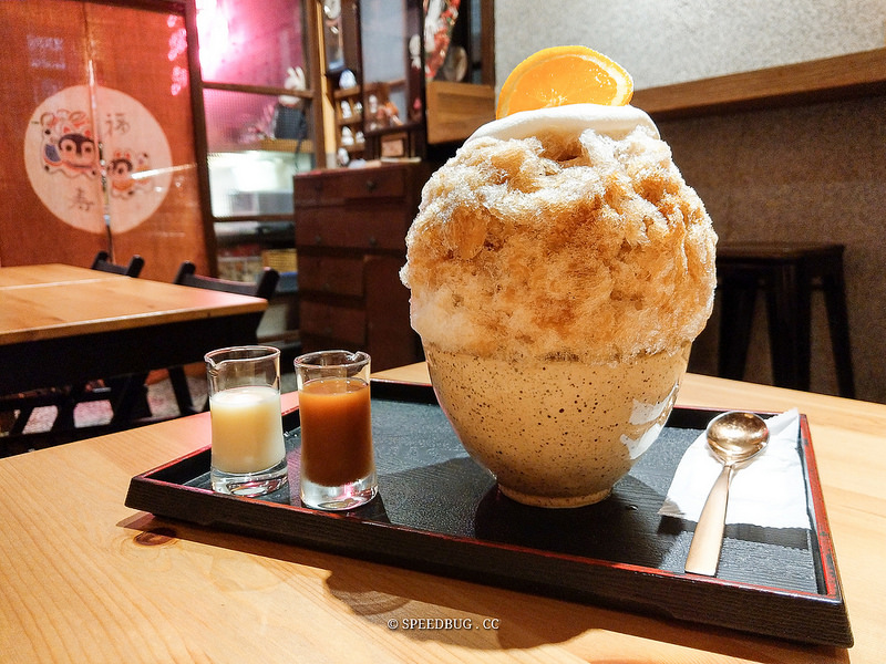 高雄苓雅美食|有點冰.有点氷かき氷専門店.復古老屋裡吃日式刨冰