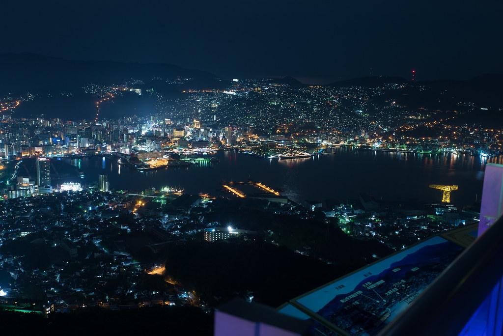稻佐山觀景台,稻佐山,日本三大夜景,長崎,夜景,日本夜景