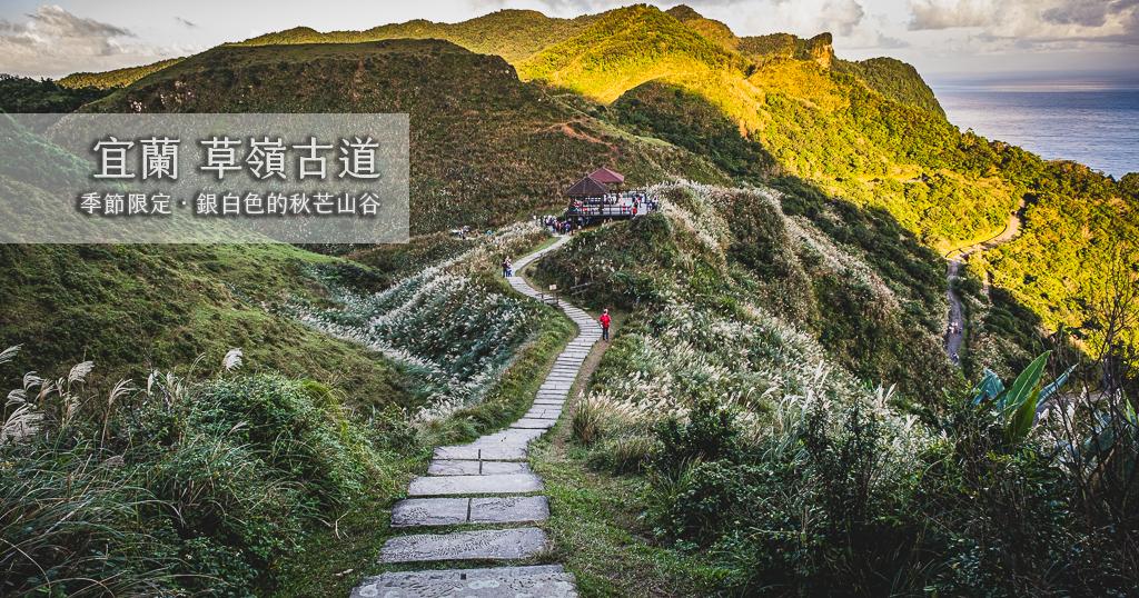 最新推播訊息:秋季限定的銀白色芒花山谷!還可以登高眺望龜山島美景