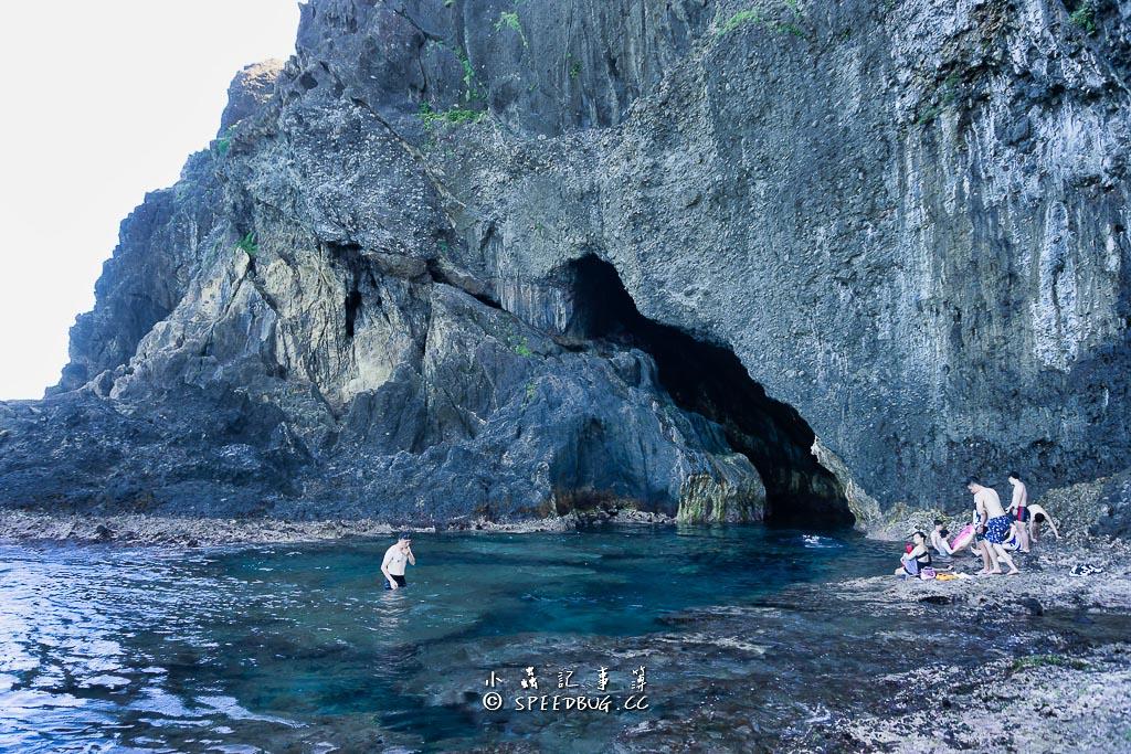 綠島柚子湖藍洞
