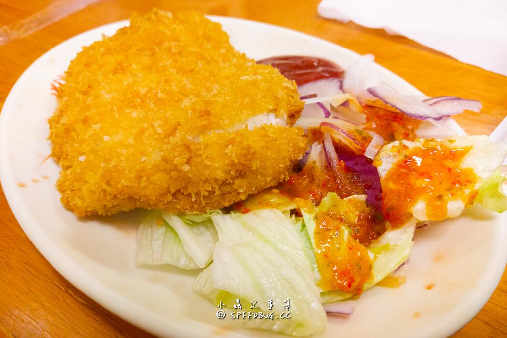 南華中日複合料理 起士炸豬排