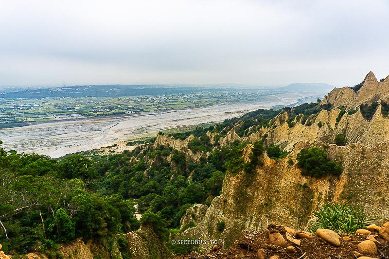 苗栗三義|火炎山自然保留區步道.壯麗火焰般的惡地景觀