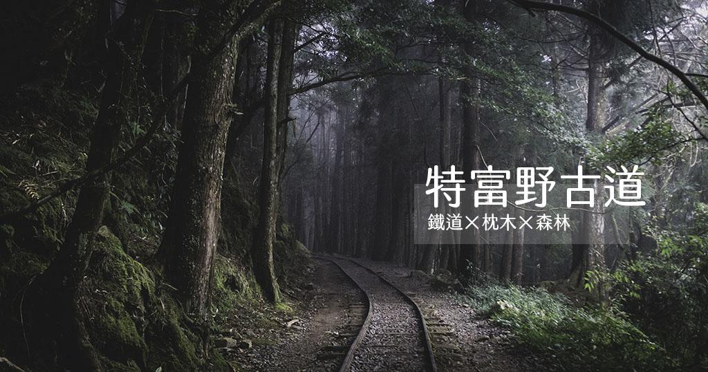 今日熱門文章:嘉義.阿里山|特富野古道自忠段.舊鐵道與枕木相伴的森林浴步道